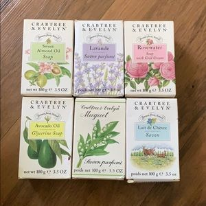 RARE discontinued Crabtree&Evelyn scented soaps